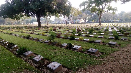 cimetière kanchanaburi - conseils voyage thailande