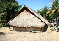 maison village laos - conseils voyage thailande