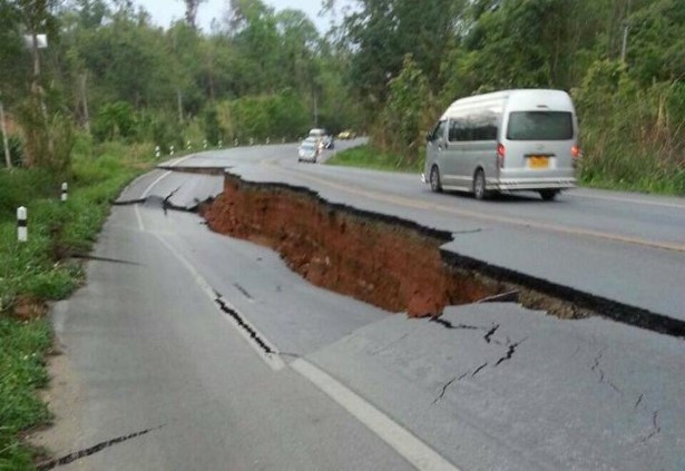 tremblement de terre thaïlande