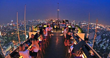 vertigo bar banyan tree bangkok - voyages thailande circuit