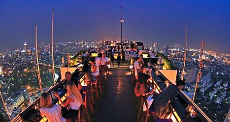 vertigo bar banyan tree bangkok - thailande vacance