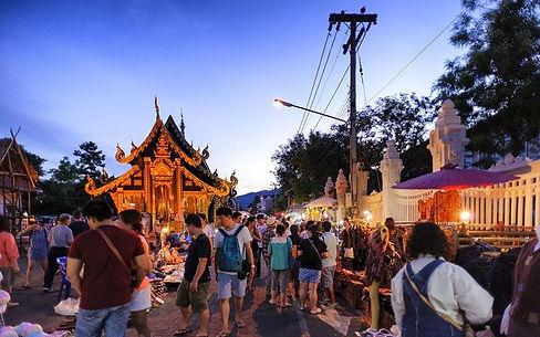 night market chiang mai - voyages thailande circuit