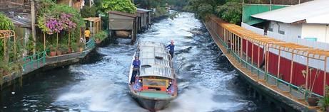 Organiser voyage Thailande BATEAU BUS KLONG.JPG