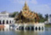 palais d'été de bangpa in - thailande sejours