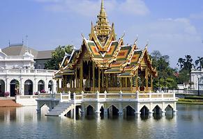 palais d'été bang pa in - organisateur voyage thailande
