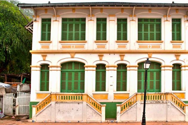 ville coloniale de luang prabang