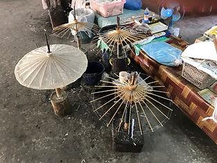 ombrelles de bo sang - organiser voyage thailande