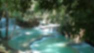 cascades de kuang si falls - thailande sejours