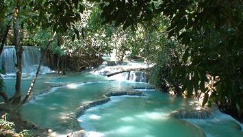 kuang si falls - thailande vacance