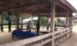 salle du conseil village laos - voyages thailande circuit