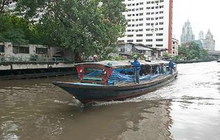 klongs de bangkok - thailande vacance