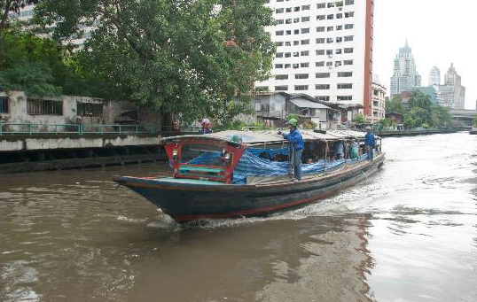 klongs bangkok - visiter thaïlande