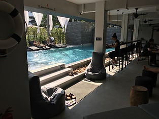 piscine hotel chiang mai - organiser voyage thailande