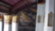 fresque intérieur grand palais bangkok - organisateur voyage thailande