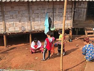 enfants tribu lahu - conseils voyage thailande