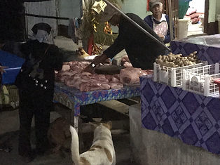 marché du matin mae salong - voyages thailande circuit