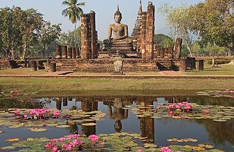 sukhotai thailande - thailande vacance
