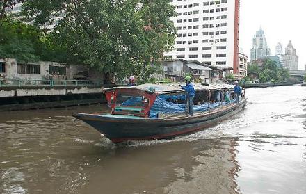 Agence locale francophone Thailande BATEAU BUS KLONG.JPG