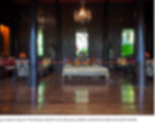 interieur maison de jim thompson - blog voyage thailande