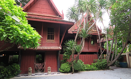 exterieur maison de jim thompson - thailande vacance