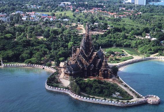 Sanctuaire de la vérité - Pattaya
