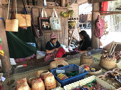 baan tong luang chiang mai - voyages thailande circuit