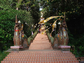 wat phra that doi suthep chiang mai - guide touristique thailande