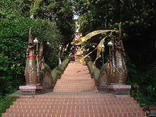 temple doi suthep - excursions thailande