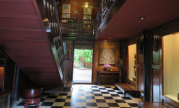 maison jim thomson bangkok - guide touristique thailande