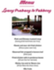 menu bateau de croisiere laos - thailande sejours