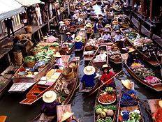 floating market amphawa - thailande actualite