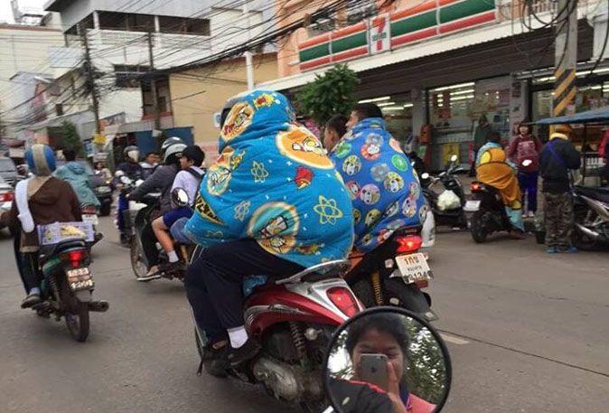 vague de froid thaïlande - siam-holidays.com