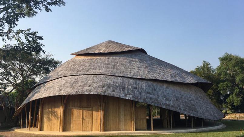 construction en bambous