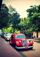 rue luang prabang - thailande vacance