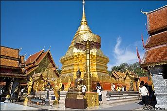 temple doi suthep - organiser voyage thailande