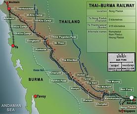 thai burma railway - thailande vacance