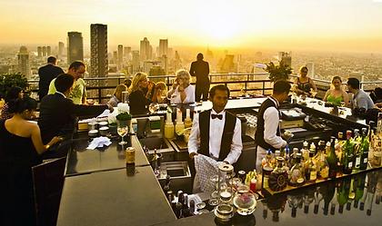 vertigo bar bangkok - thailande vacance