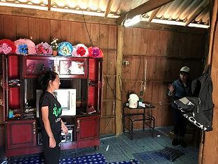nuit chez habitant mae salong - voyages thailande circuit