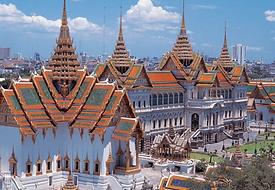 salle du trone grand palais bangkok - thailande vacance