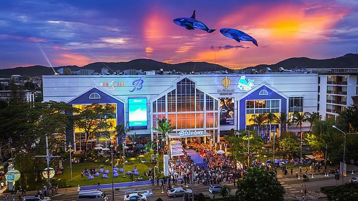 centre commercial Thailande - siam-holidays.com