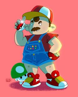 Mario, Pokemon Catcher
