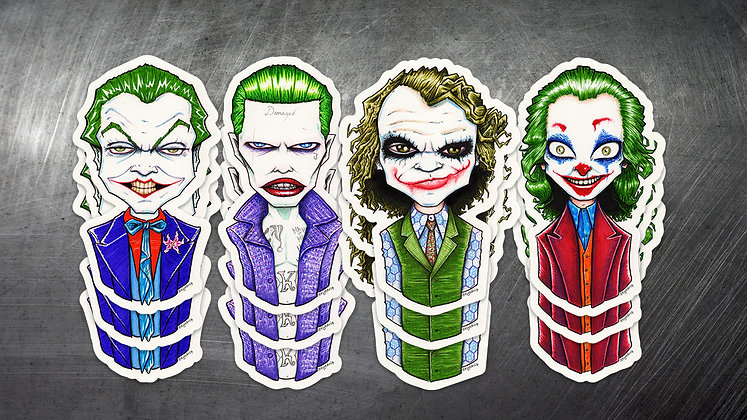 """Jokers Squad"" 4-Pack"