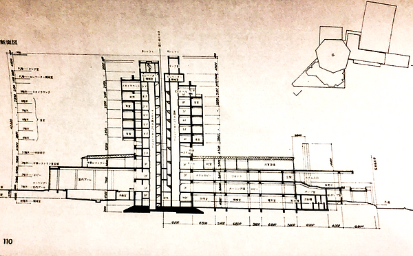 パシフィックホテル断面図