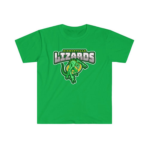 Bishopville Lizards Men's Fitted Tee