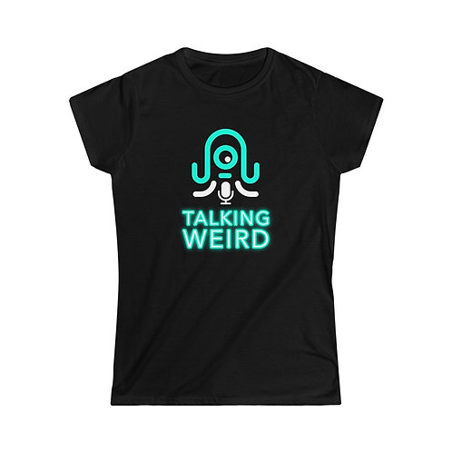 Talking Weird Women's Softstyle Tee