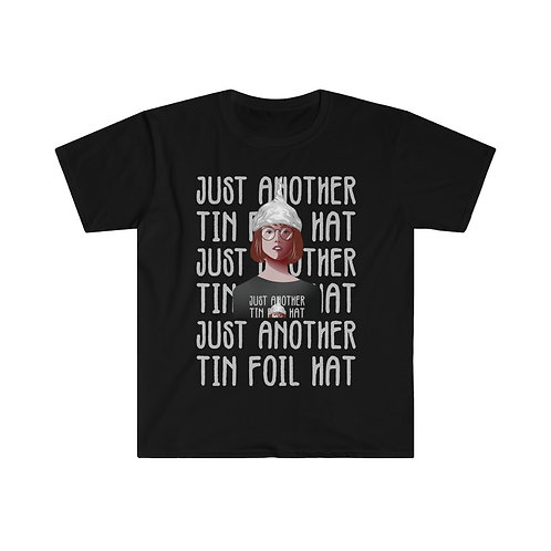 Just Another Tin Foil Hat Men's Fitted Tee