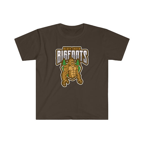 Bluff Creek Bigfoots Men's Fitted Tee