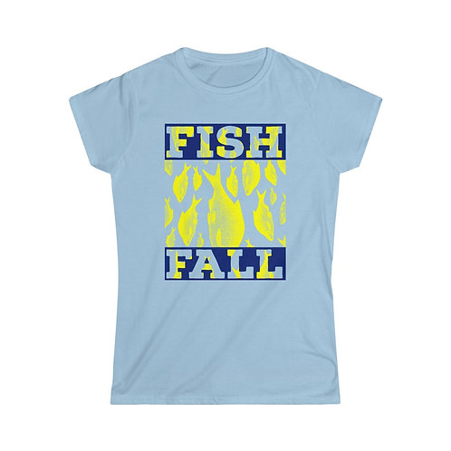 Fish Fall Women's Softstyle Tee