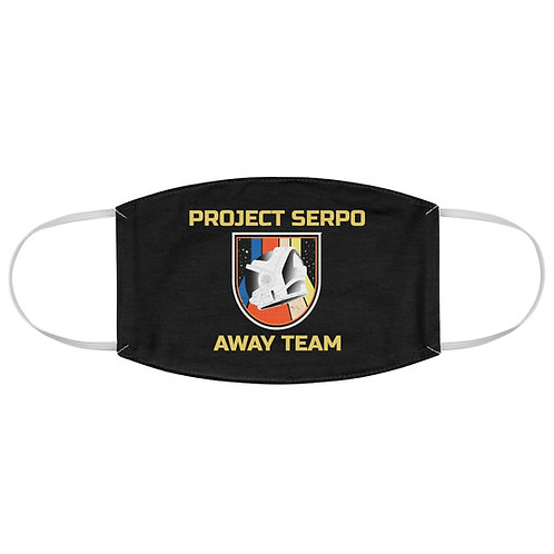 Project Serpo Away Team Fabric Face Mask