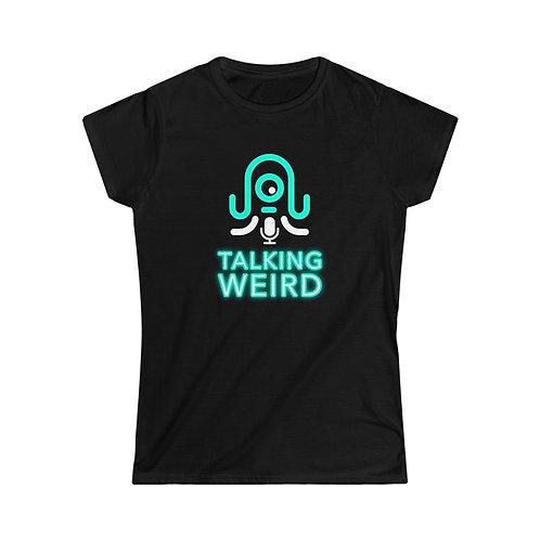 Talking Weird Women's Softstyle Tee